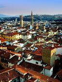 Firenze Roof poster