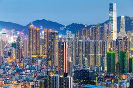 pic of overpopulation  - Hong Kong city - JPG