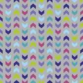 Wrapping chevron tile colorful vector pattern or seamless background with zig zag stripes