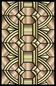 Art Deco Metallic Design