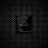 Black texture. Vector background eps10