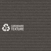 Vector Black Cardboard Texture