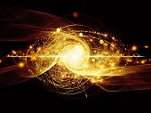 pic of quantum physics  - Elementary Particles series - JPG