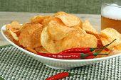 Chilli And Sour Cream Potato Chips