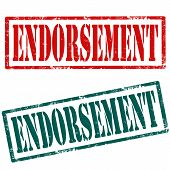 Endorsement-stamps