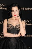 LOS ANGELES - MAY 17:  Dita Von Teese at the Dita Von Teese Launches Her Lingerie Collection at Bloo