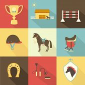 Horse and dressage icons
