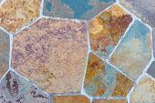 Colorful Paving Stones