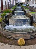 Firgas Waterfall Street