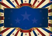 stock photo of state shapes  - a patriotic background of USA for your advertising - JPG