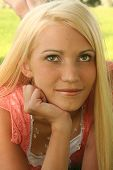 picture of pretty girl  - portrait of a pretty girl - JPG