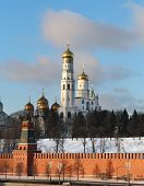 Ivan The Great  In The Moscow Kremlin