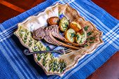 Lamb chops with potatoes 2
