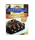 Box Of Ghirardelli Caramel Turtle Brownie Mix