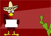 mexican chicken background