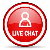live chat web icon