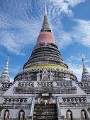 pagoda at Phra Samut Chedi temple