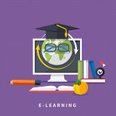 Online education, professional education