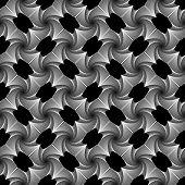Design Seamless Vortex Geometric Pattern