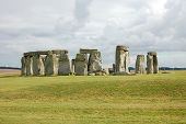 Stonehenge in the Summer poster