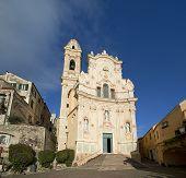 Medieval Italian Village, Cervo, Liguria, Italia
