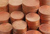 Close Up Coins Money