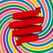 banner lent on festive abstract background design