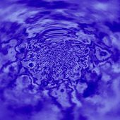 stock photo of vibrator  - Abstract blue water - JPG