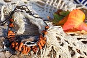 Ethnic Clay Necklace (bracelet)