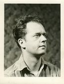 CANADA - CIRCA 1950s: Vintage photo shows studio portrait of a man.