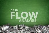 Cash flow analysis on blackboard