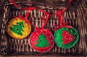 Christmas Balls From Felt