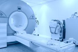 pic of cat-scan  - Modern MRI machine as a medical technology in hospital - JPG