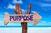 picture of vivacious  - Purpose wooden sign with beach background  - JPG
