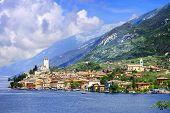 image of lagos  - lago di Garda - JPG