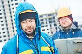 image of millwright  - construction manager or building site workers - JPG
