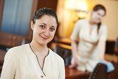 foto of housekeeper  - Hotel room service - JPG
