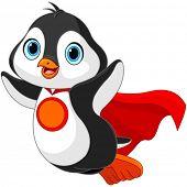 foto of heroes  - Illustration of Super Hero Penguin - JPG