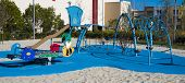 foto of playground school  - A park or school with playground equipment - JPG