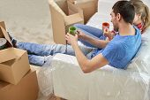 stock photo of sofa  - moving - JPG
