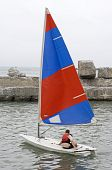 small sports yacht
