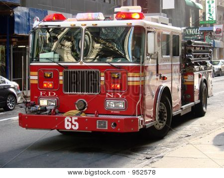 poster of New York City Fire Truck 2