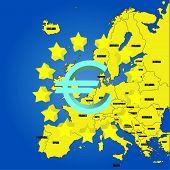 Karte von Europa - UE