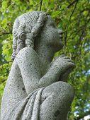 Child Statue Praying