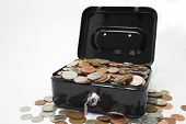A Strongbox Full Of Money