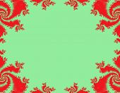 Decorative Fancy Christmas Border