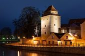 Постер, плакат: Iron Maiden Tower On The Bank Of Moldau River