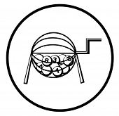símbolo de loteria