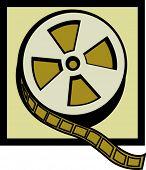 carrete de película