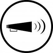 bullhorn symbol